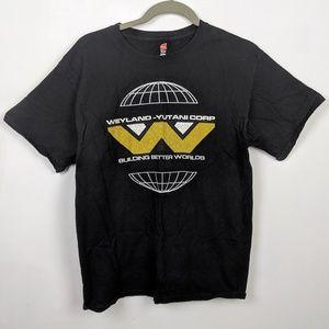 Other - Aliens Weyland Corp Graphic T-Shirt